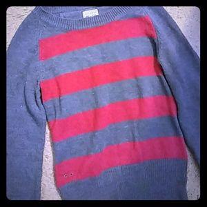 Converse onestar striped sweater